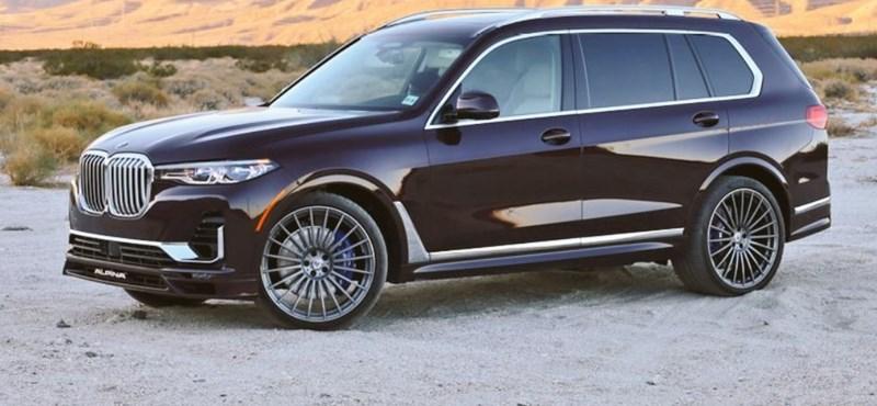 Főúri stílust kapott a BMW X7-es Alpina változata