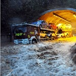 Fotó: ciklon és árvíz pusztít Olaszországban