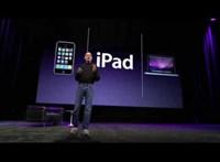 """10 éve mutatták be az első iPadet, a """"nagy iPhone-t"""""""