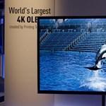 Már nem csak a Sonynak van 4K OLED tévéje
