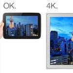 """Tényleg különleges: jön a világ első 4K-s, 20""""-es tabletje"""