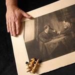 Sakkozó Hitlert és Lenint ábrázoló vázlat került kalapács alá