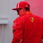Kórházi ágyáról üzent a szerelő, akit elgázolt Räikkönen