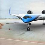 Új, futurisztikus repülőgéptípust mutattak be, az egész V alakú – képek