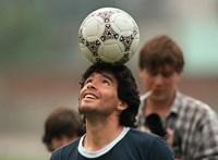Ferenc pápa imába foglalta Maradona nevét