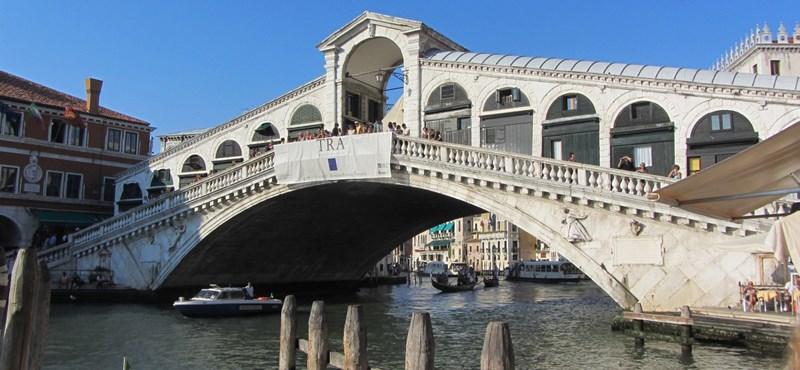 Kitiltják az óceánjárókat Velence nagy csatornáiról