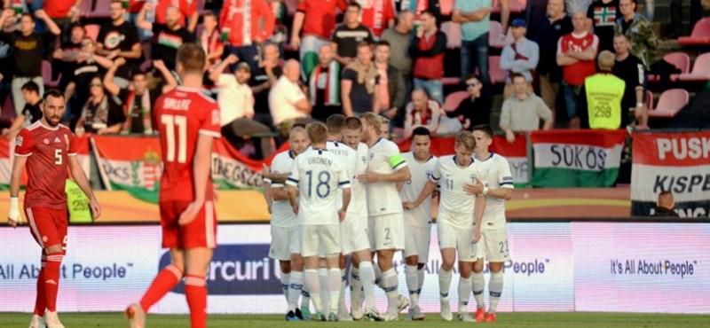 Újabb futballvereség: Rossival a kispadon 1-0 a finneknek