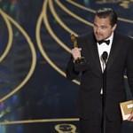 Naná, hogy DiCaprio Oscar-beszédét nézték meg eddig a legtöbben