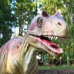 Dinoszauruszokat költöztetnek a veszprémi állatkertbe