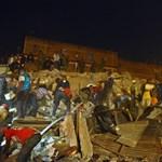Fotó: összedőlt egy hatszintes ház Kenyában