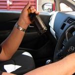 Ittas vezetésért 8 millió forintos büntetést kapott egy fiatal hölgy