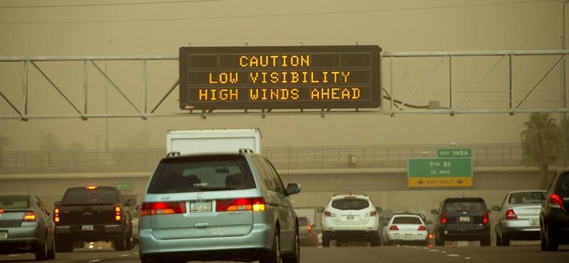 Homokvihar érkezett Phoenix térségébe