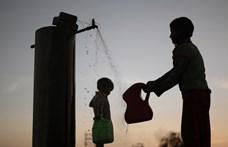 Ötven fokos hőség pusztít Indiában