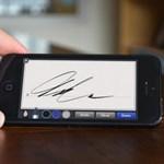 Megmutatjuk, hogyan írhatja kézzel alá a dokumentumait PC-jén, telefonján