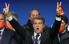 Joan Laporta lett a Barcelona elnöke