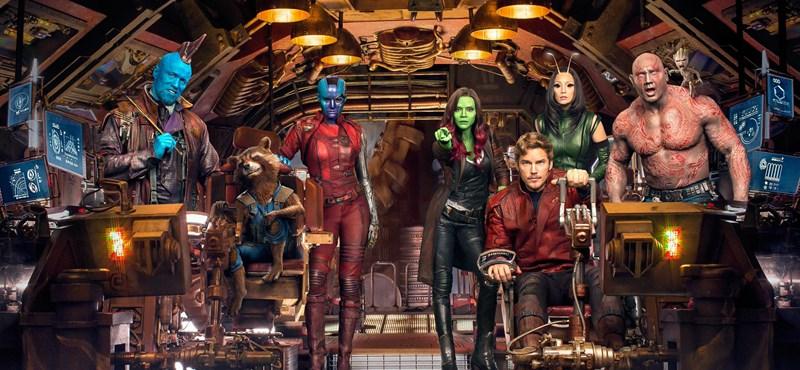 A galaxis őrzői másodjára bizonyítják, hogy nincs náluk jobb csapat a moziban