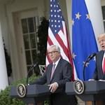 Trump és Juncker találkozott: enyhülés jön a kereskedelmi háborúban?