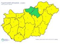 Szinte az egész országra riasztást adott ki a Meteorológiai Szolgálat