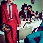 Extravagáns divatvacsora: a Lanvin 2012 tavaszi / nyári kollekciója