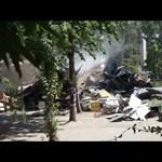 Így kezdődött a dózerolás a Városligetben – videó