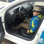 Megható üzenetet kaptak a soproni rendőrök