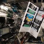 Floppylemezeket találtak a Nemzetközi Űrállomáson