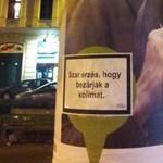A nap képe: ezzel a plakáttal üzent a kormánynak a Hallgatói Hálózat