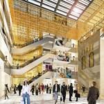 Videó: luxuspláza nyílik a Vörösmarty téren