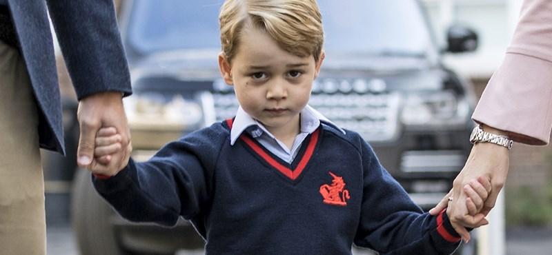 Ilyen iskolában tanul György herceg: hétmillió forintos tandíj, művészeti és franciaórák