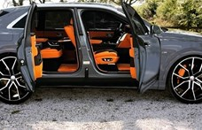 A Rolls-Royce-stílusú öngyilkos ajtókkal álmodták meg az Audi Q8-ast