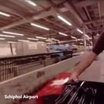 Kiderült, hova tűnnek a reptéren feladott poggyászok - videó
