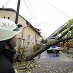 Vasárnapi orkán: sok helyen még mindig nincs áram