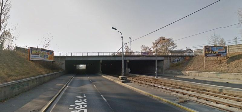 Így lehet majd gyorsan átszállni a 14-es villamosról az esztergomi vonatra