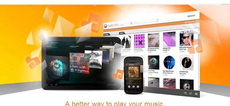 Google Music: a zene mindenhol utolér