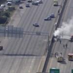 Súrolhatta egy teherautó tetejét az autópályára zuhanó repülő