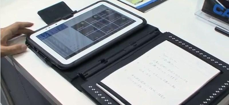 Ez a táblagép a kézírást is értelmezi