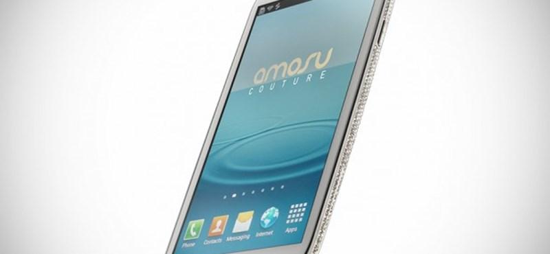 Itt a világ talán legdrágább Galaxy S III-asa