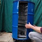 Egy brit autószerelő megépítette a világ legjobb szerszámos dobozát