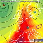 Egész európát átszelő jelenség hozta a hőséget – térkép