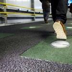 Energiatermelő járólapokkal oldanák meg a közvilágítást