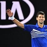 Történelmi Djokovic-siker Melbourne-ben