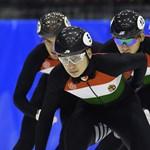 Világcsúcsot ment a magyar férfi gyorskorcsolya-váltó Calgaryban