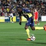 Usain Bolt először focizott igazi meccsen