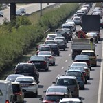 Újabb baleset történt az M7-es Balaton felé menő oldalán