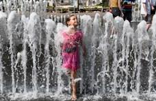 Pokoli hőhullám éri el Európa nagy részét szerdán, 40 foknál melegebb idő várható