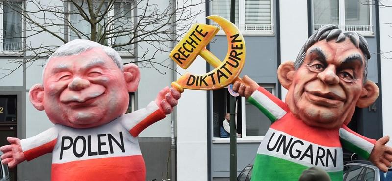 Kifigurázták Orbánt a düsseldorfi karneválon