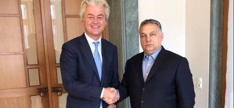 A holland szélsőjobb vezére szerint Orbán barátok nélkül üldögél az Európai Néppártban