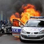 Fotók: Szétverték Párizsban a rendőrök tüntetését