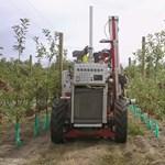 Almaszedő robot állt munkába Új-Zélandon, csak úgy kapkodja le a gyümölcsöket – videó