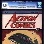 Elképesztő összegért kínálják az első Superman képregényt